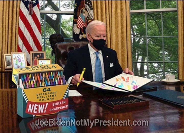 The Big Guy's Executive Order Coloring Book