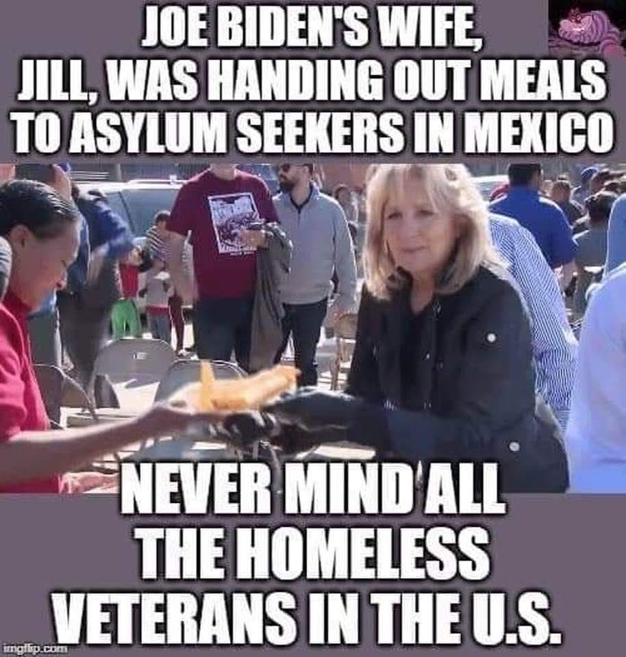 Illegals First – Veterans Last!