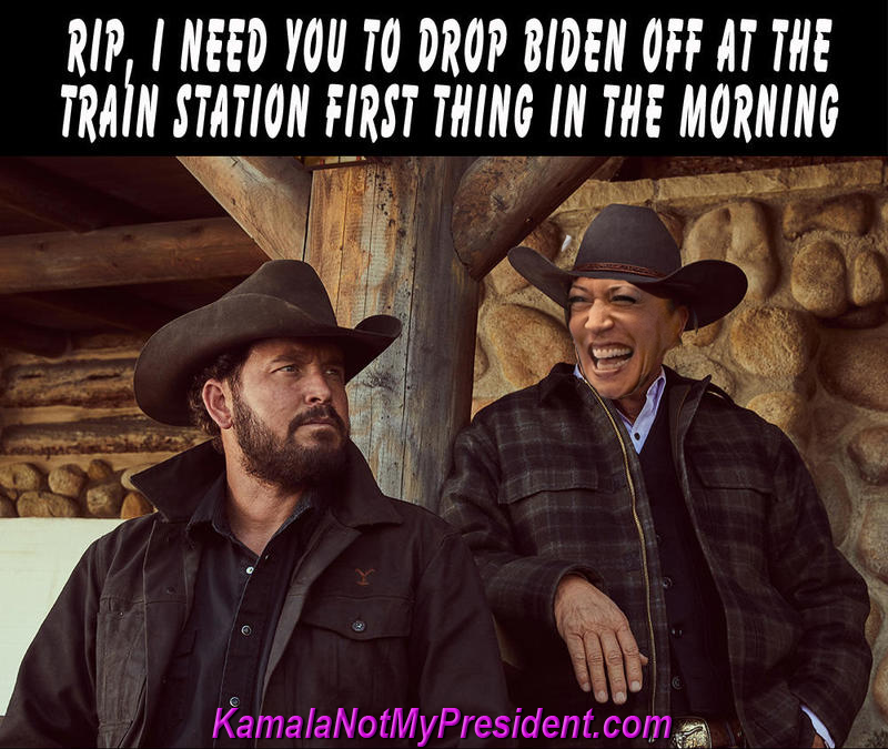 Rip, I want You To Take Biden To The Train Station