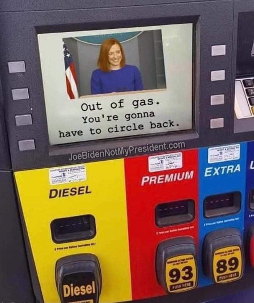 Outta Gas. You'll Need To Circle Back.